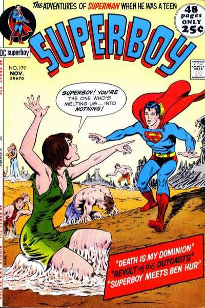 Superboy #179 comic books - cover scans photos Superboy #179 comic books - covers, picture gallery