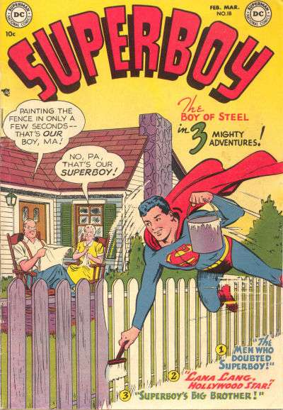 Superboy #18 Comic Books - Covers, Scans, Photos  in Superboy Comic Books - Covers, Scans, Gallery