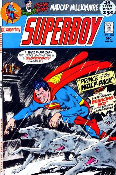 Superboy #180 comic books - cover scans photos Superboy #180 comic books - covers, picture gallery