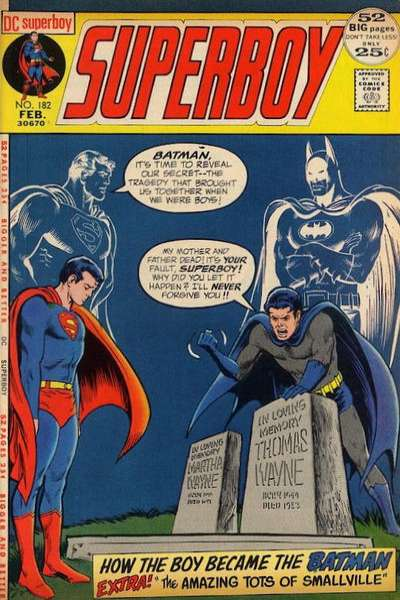Superboy #182 Comic Books - Covers, Scans, Photos  in Superboy Comic Books - Covers, Scans, Gallery