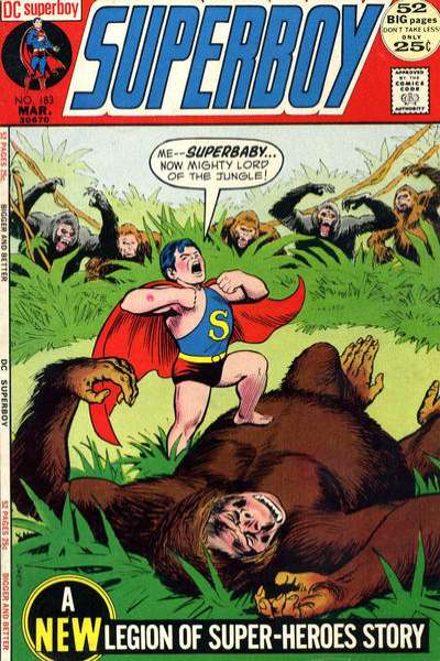 Superboy #183 comic books for sale