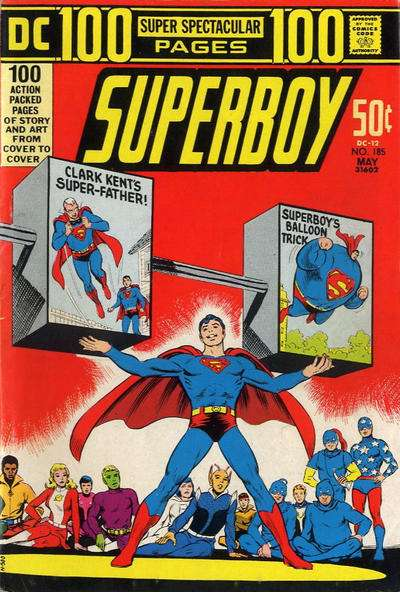Superboy #185 comic books - cover scans photos Superboy #185 comic books - covers, picture gallery