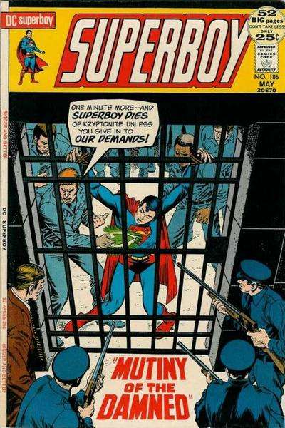 Superboy #186 Comic Books - Covers, Scans, Photos  in Superboy Comic Books - Covers, Scans, Gallery