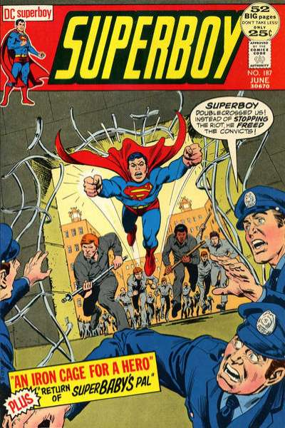 Superboy #187 comic books - cover scans photos Superboy #187 comic books - covers, picture gallery