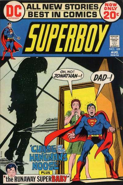 Superboy #189 comic books - cover scans photos Superboy #189 comic books - covers, picture gallery