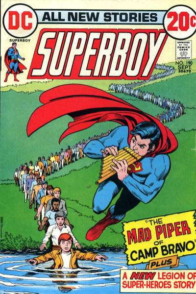 Superboy #190 comic books - cover scans photos Superboy #190 comic books - covers, picture gallery