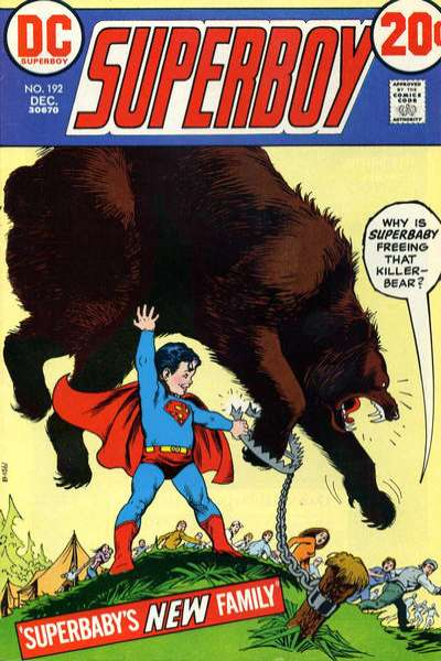 Superboy #192 comic books - cover scans photos Superboy #192 comic books - covers, picture gallery