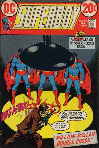 Superboy #193 comic books - cover scans photos Superboy #193 comic books - covers, picture gallery