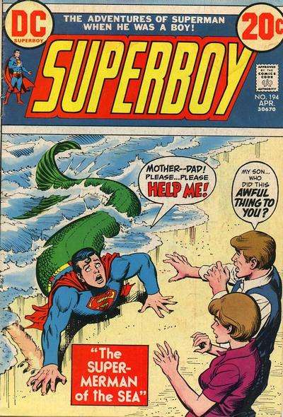 Superboy #194 comic books - cover scans photos Superboy #194 comic books - covers, picture gallery