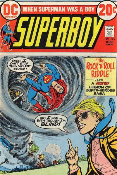 Superboy #195 comic books - cover scans photos Superboy #195 comic books - covers, picture gallery