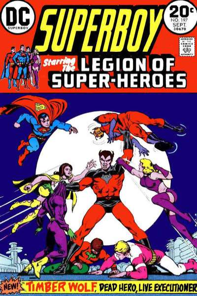 Superboy #197 Comic Books - Covers, Scans, Photos  in Superboy Comic Books - Covers, Scans, Gallery
