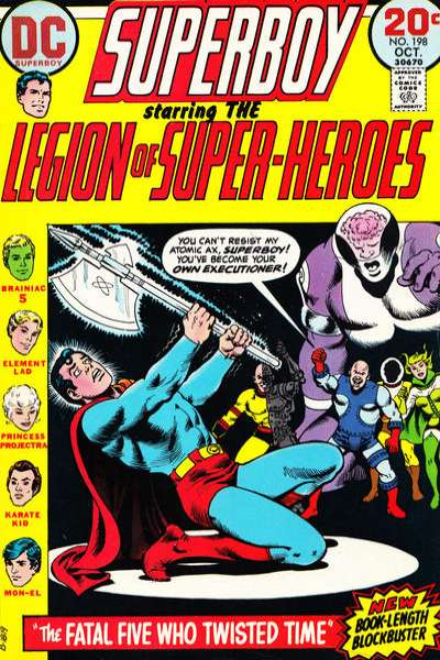 Superboy #198 Comic Books - Covers, Scans, Photos  in Superboy Comic Books - Covers, Scans, Gallery