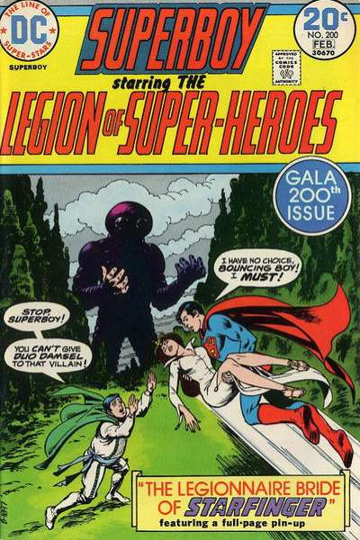 Superboy #200 Comic Books - Covers, Scans, Photos  in Superboy Comic Books - Covers, Scans, Gallery