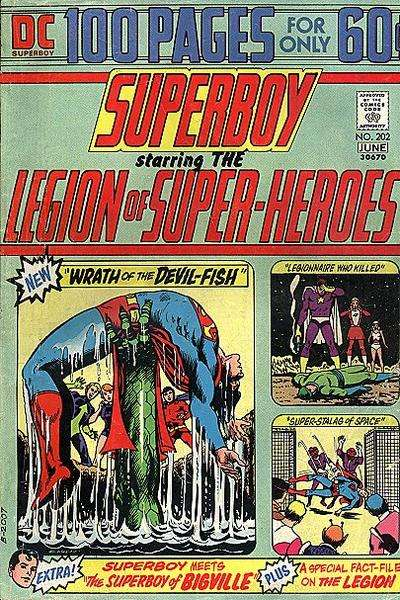 Superboy #202 Comic Books - Covers, Scans, Photos  in Superboy Comic Books - Covers, Scans, Gallery