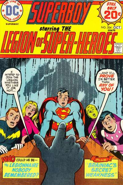 Superboy #204 cheap bargain discounted comic books Superboy #204 comic books