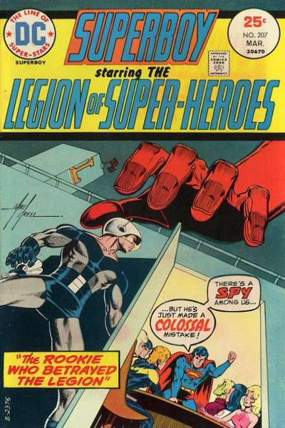Superboy #207 Comic Books - Covers, Scans, Photos  in Superboy Comic Books - Covers, Scans, Gallery