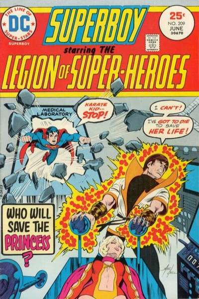Superboy #209 Comic Books - Covers, Scans, Photos  in Superboy Comic Books - Covers, Scans, Gallery