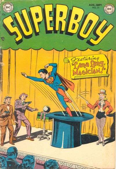Superboy #21 Comic Books - Covers, Scans, Photos  in Superboy Comic Books - Covers, Scans, Gallery