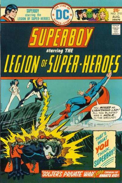 Superboy #210 comic books for sale