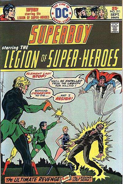 Superboy #211 comic books for sale