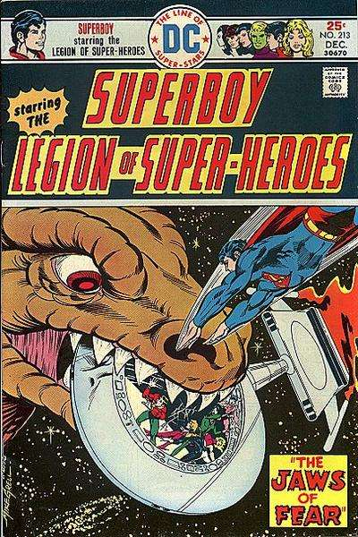 Superboy #213 comic books - cover scans photos Superboy #213 comic books - covers, picture gallery