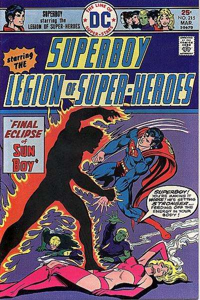 Superboy #215 comic books - cover scans photos Superboy #215 comic books - covers, picture gallery