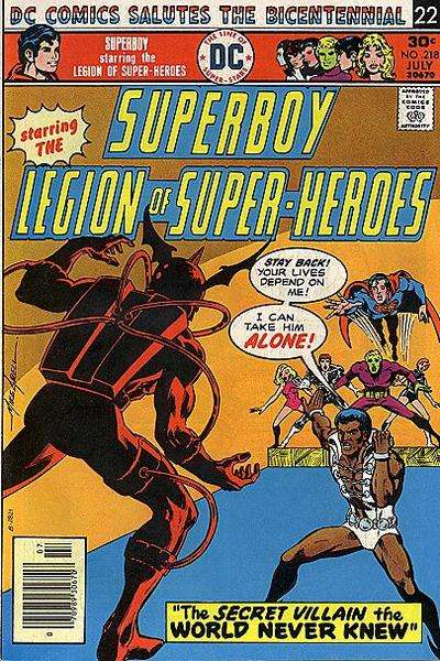 Superboy #218 comic books - cover scans photos Superboy #218 comic books - covers, picture gallery
