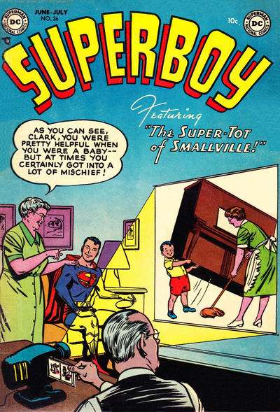Superboy #26 Comic Books - Covers, Scans, Photos  in Superboy Comic Books - Covers, Scans, Gallery