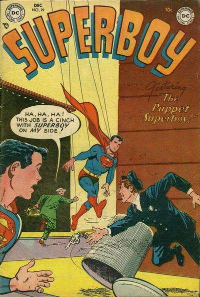 Superboy #29 Comic Books - Covers, Scans, Photos  in Superboy Comic Books - Covers, Scans, Gallery