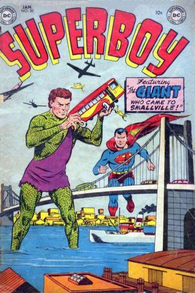 Superboy #30 Comic Books - Covers, Scans, Photos  in Superboy Comic Books - Covers, Scans, Gallery