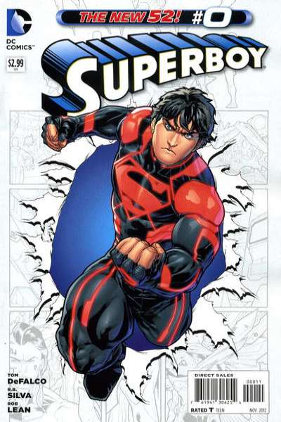 Superboy #0 comic books - cover scans photos Superboy #0 comic books - covers, picture gallery