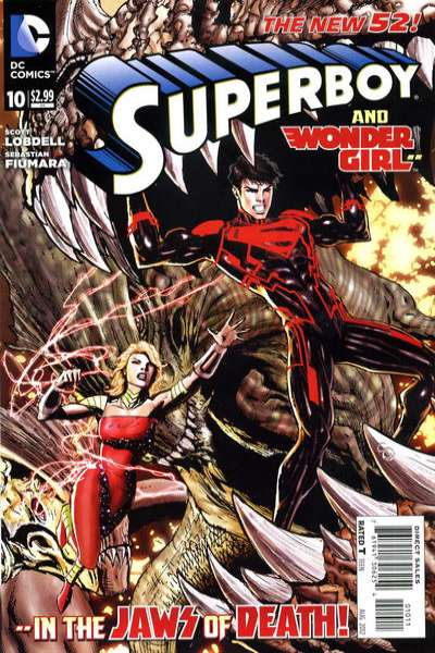 Superboy #10 comic books - cover scans photos Superboy #10 comic books - covers, picture gallery