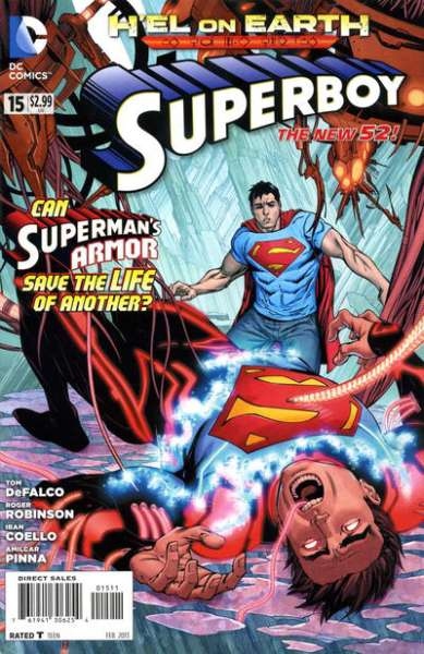 Superboy #15 comic books - cover scans photos Superboy #15 comic books - covers, picture gallery