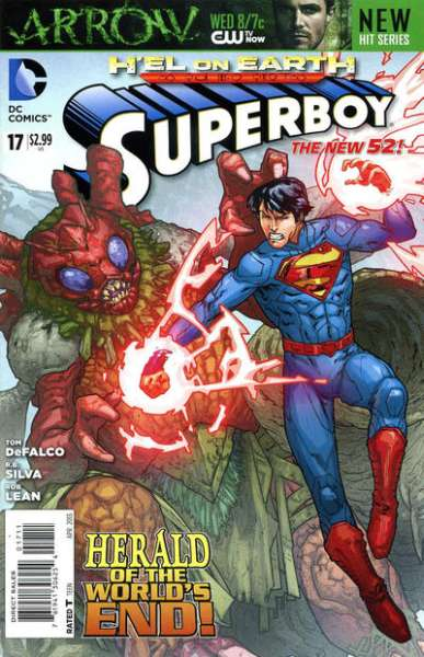 Superboy #17 comic books - cover scans photos Superboy #17 comic books - covers, picture gallery