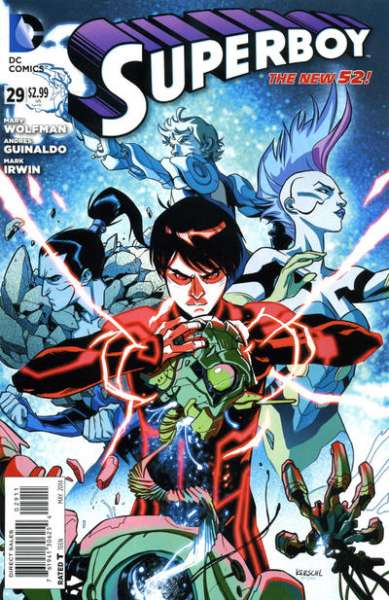 Superboy #29 comic books - cover scans photos Superboy #29 comic books - covers, picture gallery