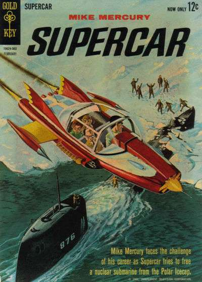 Supercar #2 Comic Books - Covers, Scans, Photos  in Supercar Comic Books - Covers, Scans, Gallery