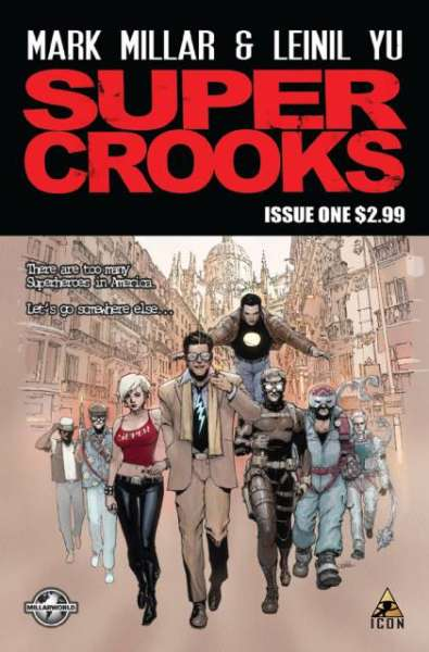 Supercrooks Comic Books. Supercrooks Comics.