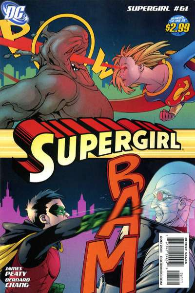 Supergirl #61 Comic Books - Covers, Scans, Photos  in Supergirl Comic Books - Covers, Scans, Gallery