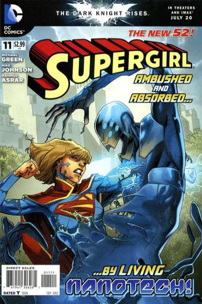 Supergirl #11 Comic Books - Covers, Scans, Photos  in Supergirl Comic Books - Covers, Scans, Gallery