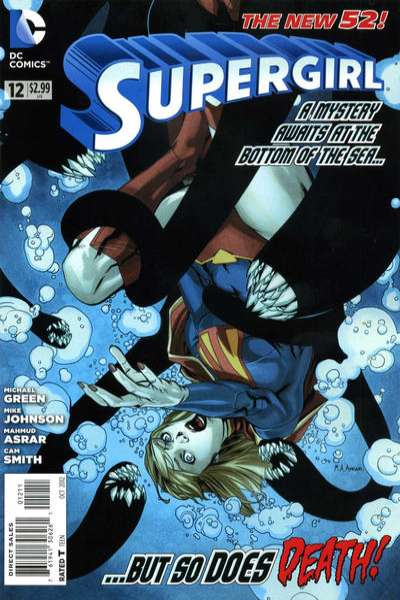 Supergirl #12 Comic Books - Covers, Scans, Photos  in Supergirl Comic Books - Covers, Scans, Gallery