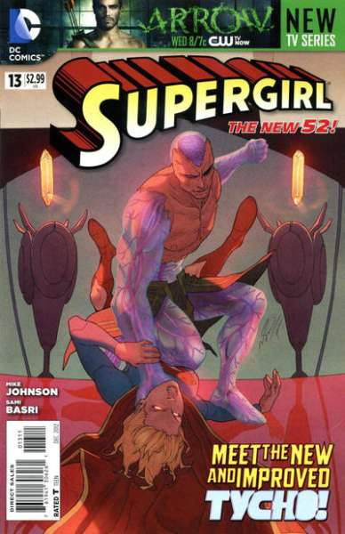 Supergirl #13 Comic Books - Covers, Scans, Photos  in Supergirl Comic Books - Covers, Scans, Gallery
