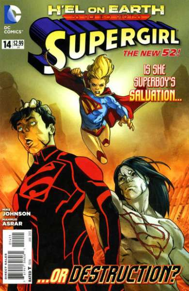 Supergirl #14 Comic Books - Covers, Scans, Photos  in Supergirl Comic Books - Covers, Scans, Gallery