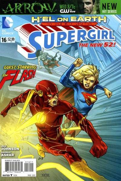 Supergirl #16 comic books for sale