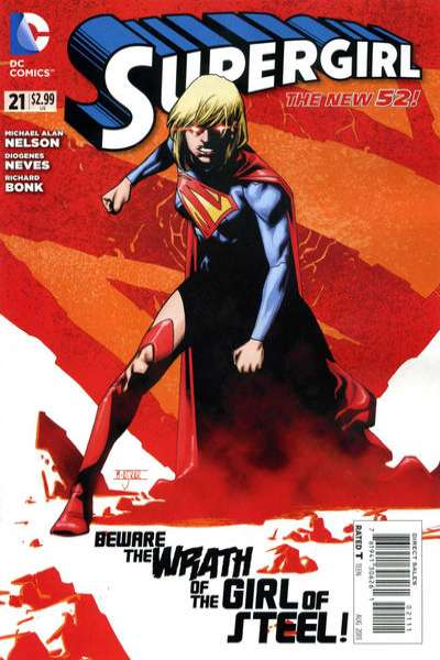 Supergirl #21 Comic Books - Covers, Scans, Photos  in Supergirl Comic Books - Covers, Scans, Gallery