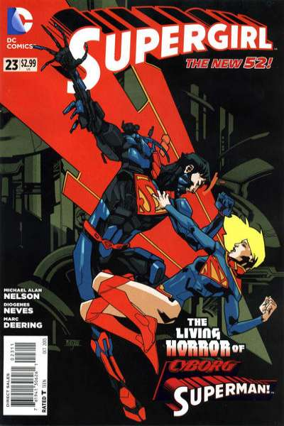 Supergirl #23 Comic Books - Covers, Scans, Photos  in Supergirl Comic Books - Covers, Scans, Gallery