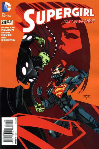 Supergirl #24 Comic Books - Covers, Scans, Photos  in Supergirl Comic Books - Covers, Scans, Gallery