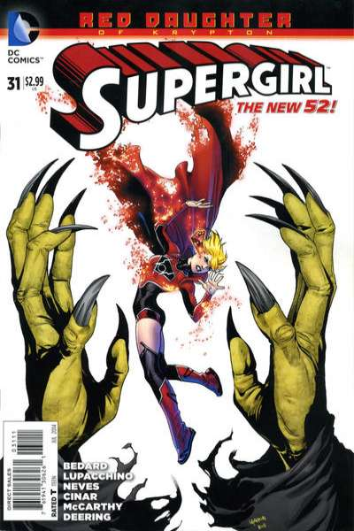 Supergirl #31 comic books for sale
