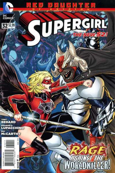 Supergirl #32 comic books for sale