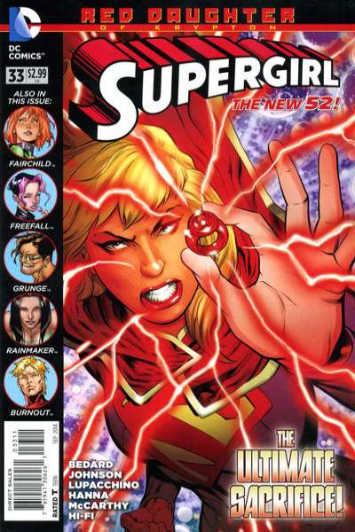 Supergirl #33 Comic Books - Covers, Scans, Photos  in Supergirl Comic Books - Covers, Scans, Gallery