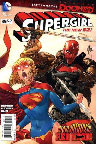 Supergirl #35 Comic Books - Covers, Scans, Photos  in Supergirl Comic Books - Covers, Scans, Gallery